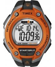Timex T5K529 Mens orange, noir ironman 30 tour montre sport oversize