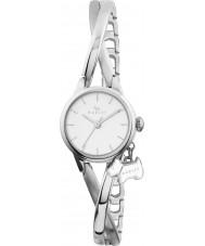 Radley RY4181 Mesdames argent torsadée moitié cru de montres bracelet