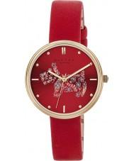 Radley RY2336 Mesdames jardins romarin cuir écarlate montre bracelet