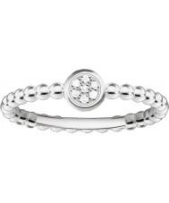 Thomas Sabo D-TR0004-725-14-54 Mesdames glam et de l'âme 925 diamants bague en argent - taille o (UE 54)