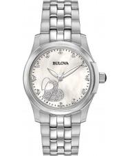 Bulova 96P182 diamants dames regardent