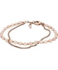 Fossil JA6851791 Mode pour dames rose bracelet en acier or