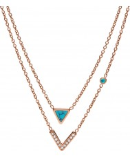 Fossil JF02644791 Collier femme