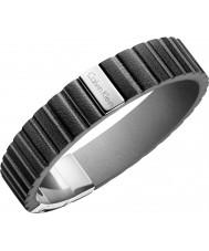 Calvin Klein KJ5SBB090100 Bracelet de plaque pour homme